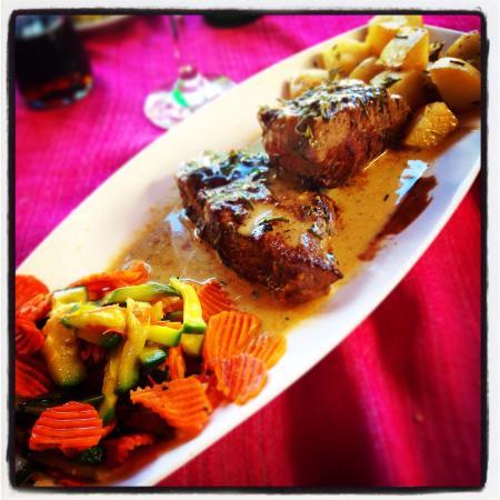 Lo de Charlie: El entrecot con salsa de foie gras