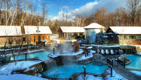 The Baths Picture Of Scandinave Spa At Blue Mountain Blue Mountains Tripadvisor