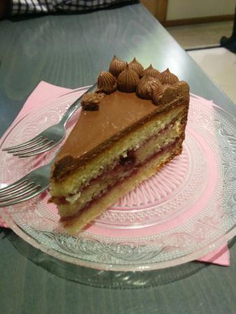 Mi HABITACION favorita: Tarta de mora y chocolate