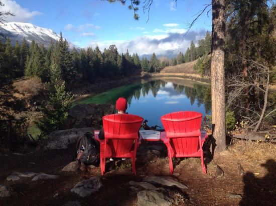 the red chair program picture of valley of five lakes jasper