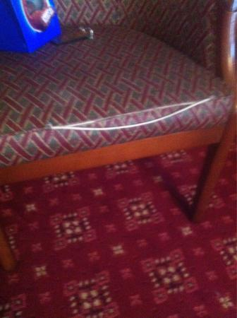 BEST WESTERN Crown Hotel : One of the chairs in our room at crown hotel boroughbridge