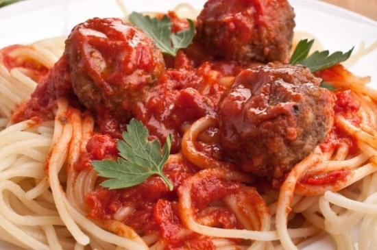 Spaghetti and meatballs - Photo de The Golden Goose American Grill ...
