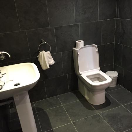 Wold Newton, UK: Bathroom hayloft