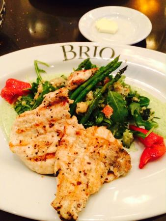 BRIO Tuscan Grille: Grilled Chicken and Quinoa Salad