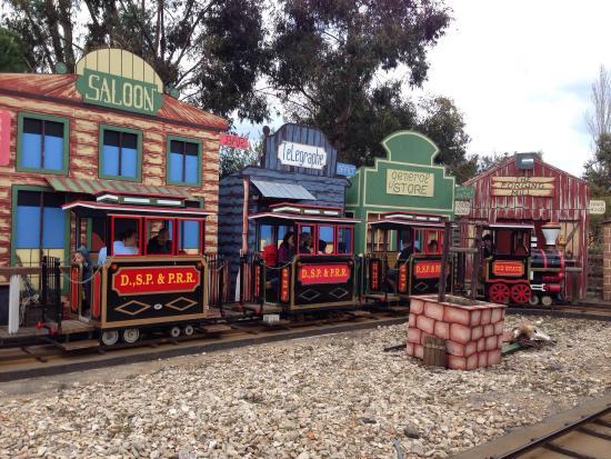 La Ferme du Far West : Le train