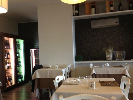 visuale dal tavolo - Picture of Le Terrazze sul Lago, Trevignano ...