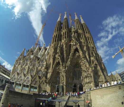 Basilica of the Sagrada Familia [Barcelona] - Picture of Basilica of the Sagr...