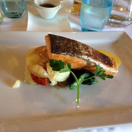THE OLIVE BRANCH BISTRO : Salmon at The Olive Branch
