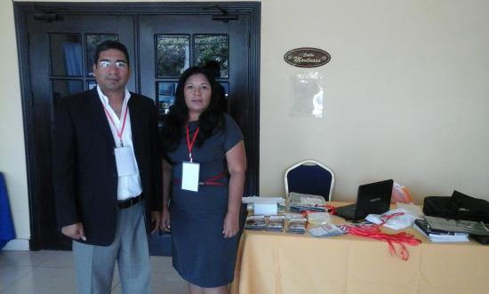 Gran Hotel Azuero : Geovani Alberto y Paola Mero de Representaciones JM