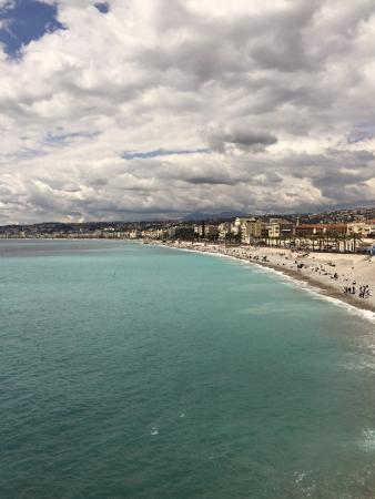 Hotel des Flandres : Plage de Nice