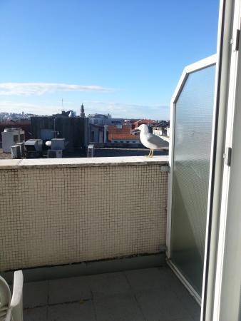 Malaposta: balcony 4th floor