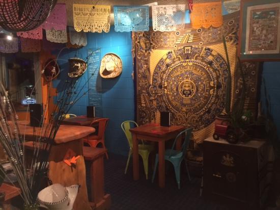 Sombreros Mexican Cantina : Decor in Mexican Cantina