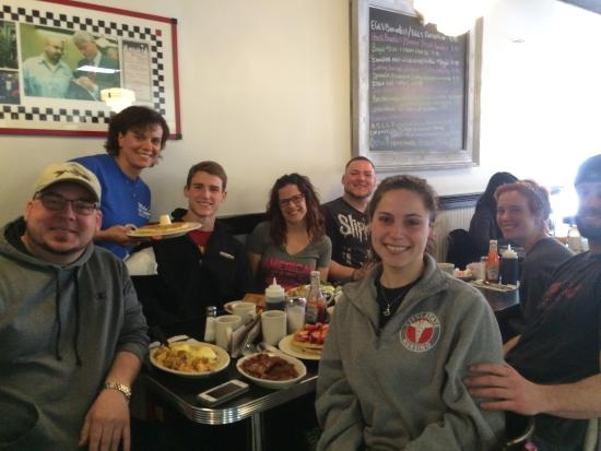 Mike's City Diner : We had the best time! The food was phenomenal! The wait staff was so sweet and upbeat! Even thou
