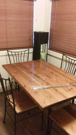 Lake Murray State Park & Lodge: Kitchen table