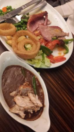 Madisons: Inedible chicken - and dried up gammon steak