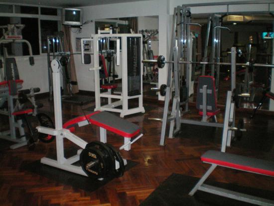Ohasis Hotel Spa: Gym