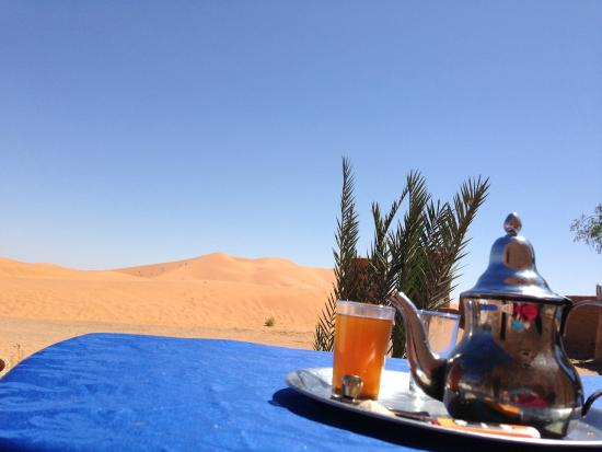 La Maison Rurale: a tea in the desert