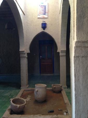 La Maison Rurale: patio