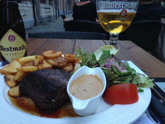 Horse steak and a tripel beer picture of l 39 entrepot du - L entrepot du bricolage seynod ...