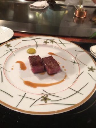 Azamino Ukai-tei: メインのステーキ