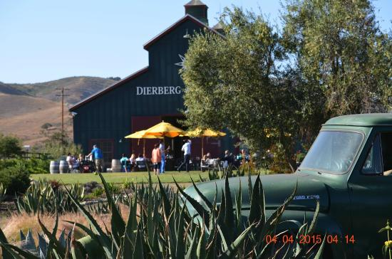 Wine Canyon Tours: Dierberg Winery in Santa Rita Hills. Great way to close out the day!
