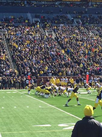 University of Michigan: Spring Practice Game 2015