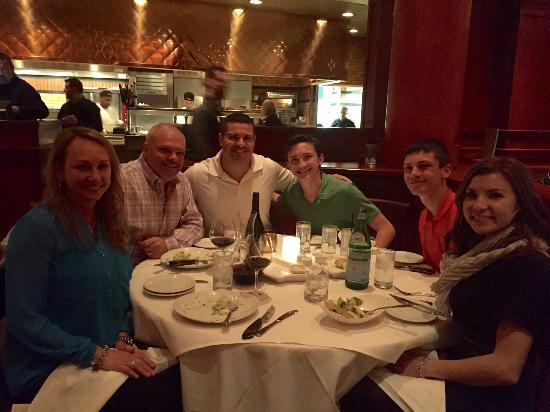 Fleming's Prime Steakhouse & Wine Bar: With some biz friends