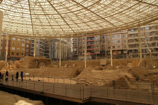 Zaragoza - Picture of Museo del Teatro Romano de Caesaraugusta, Zaragoza - Tr...