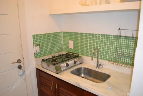 Passeio das Palmeiras Apartamentos: cozinha