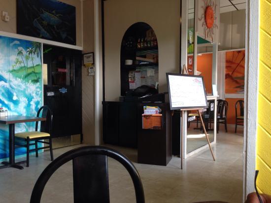 Black Bean Cafe: Inside