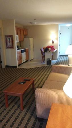 Hampton Inn and Suites-Chesterfield: Kitchenette with full size refrigerator