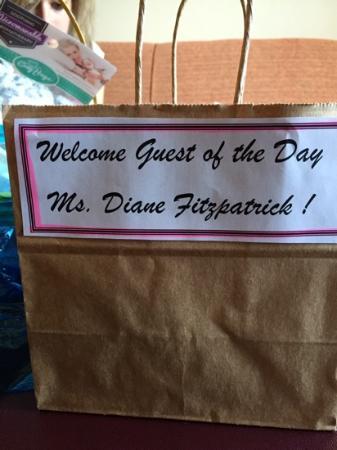 Homewood Suites Wallingford-Meriden: Surprise welcome gift bag of treats!!:)