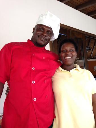 Sugar club: Chef and Latoya