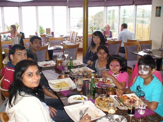 Maharajah Indian Restaurant : dinner time