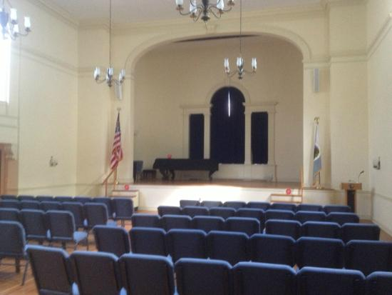 Morristown National Park - auditorium in museum
