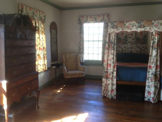 Ford Mansion and Museum: Ford Mansion - Bed where George Washington slept