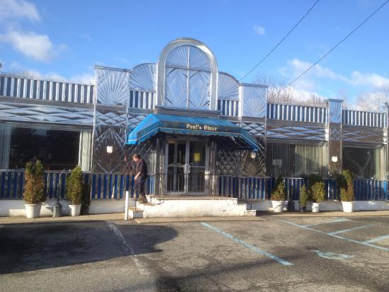 Mountain Lakes, Nueva Jersey: Paul's Diner - front of diner