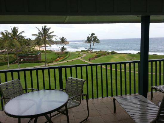 Coastline Cottages : Sweet view from lanai!