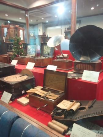 Nidec Sankyo Museum Suwanone: 2階展示室