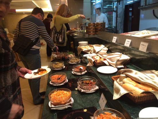 Jingtailong International Hotel: Breakfast buffet
