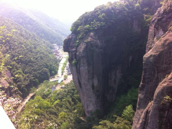 Wuyi County, China: View from the pathway