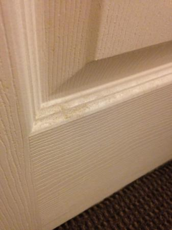 Sleep Inn Carlisle : dirty door