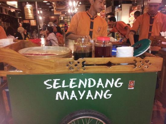 Bekasi, Indonesia: Gerobak Es Selendang Mayang