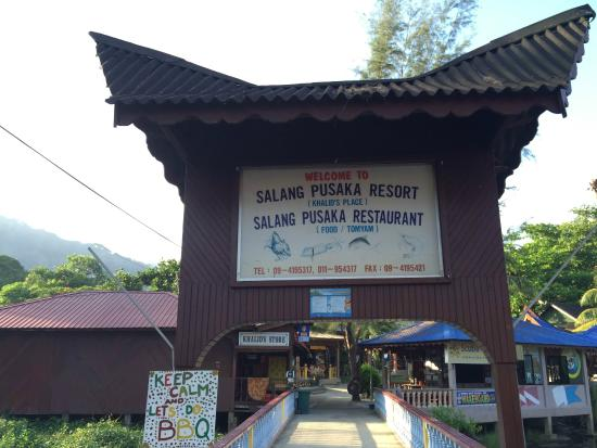 Salang Pusaka Resort : Entrance to Salang Pusaka