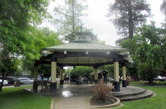 Healdsburg Plaza Park Area Healdsburg Ca Picture Of