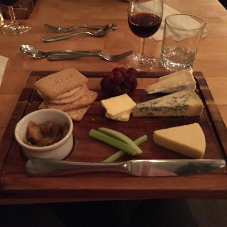 Poor cheese board