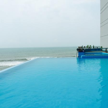 Infinity Pool Picture Of Sayeman Beach Resort Cox S Bazar Tripadvisor