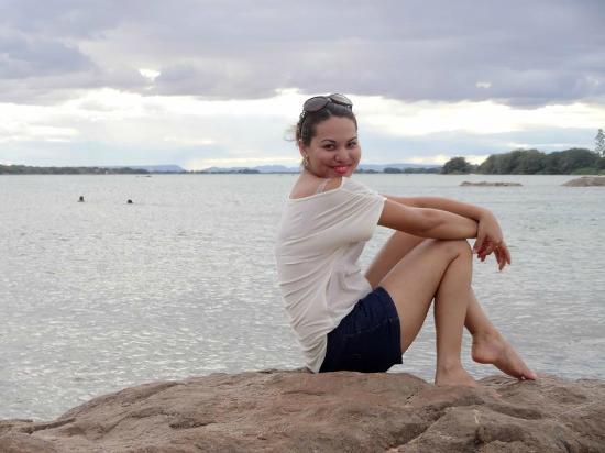 Ilha do Rodeador: Pegando carona na beleza da paisagem.