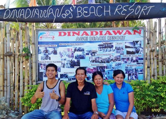 Dinadiawan Beach: A perfect retreat for the whole family.