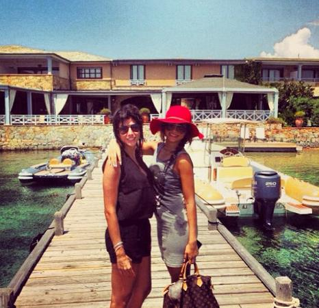 Cavallo Island, Frankreich: Before hitting the hotel